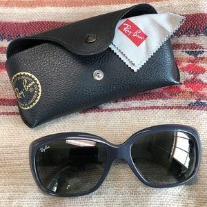 SOLD - Rare gray Ray Ban Jackie Ohh 2 sunglasses